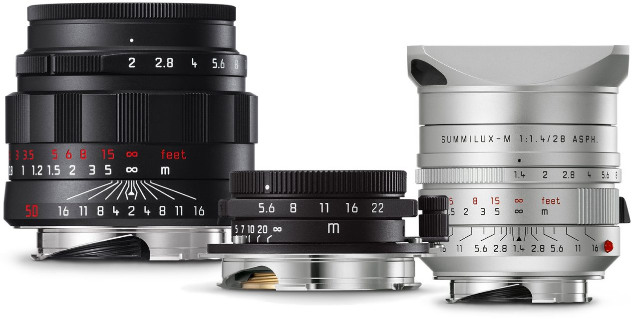 c9dfa80ff12f Neu von Leica: Drei M-Objektive im Sonderdesign | photoscala