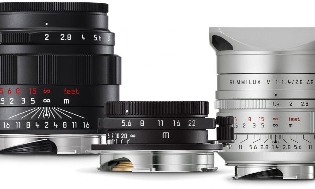 Neu von Leica: Drei M-Objektive im Sonderdesign