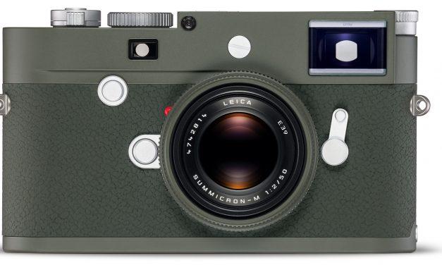 """Leica M10-P und Leica Summicron-M 1:2/50 als limitierte """"Safari""""-Editionen vorgestellt"""