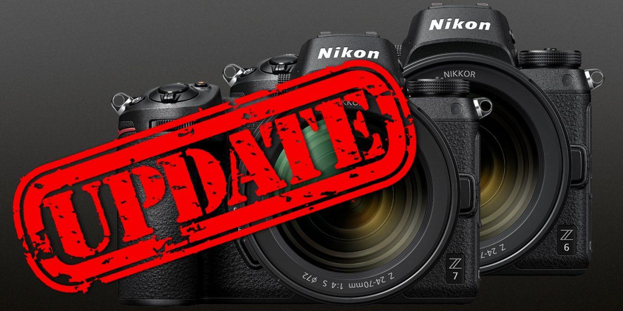 Für Nikon Z7 und Z6: 3D LUT für N-Log veröffentlicht, Firmware-Update für RAW-Videoausgabe angekündigt