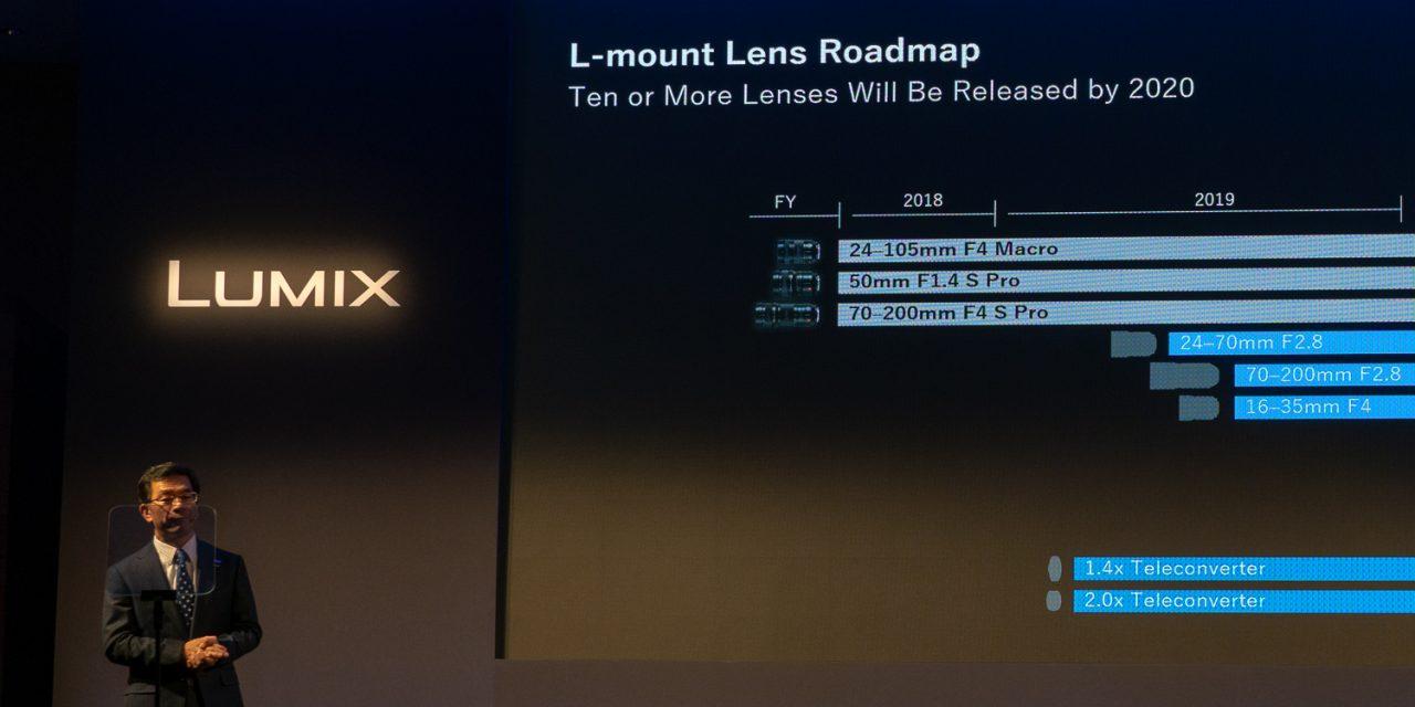 Panasonic enthüllt Objektiv-Roadmap für Lumix S