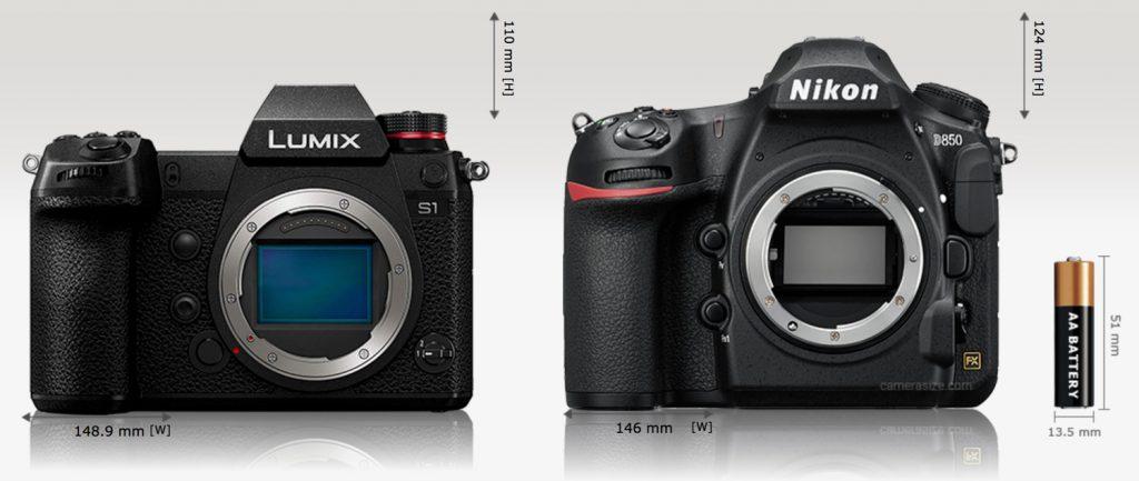 Pansonic-S1-vs-Nikon-D850