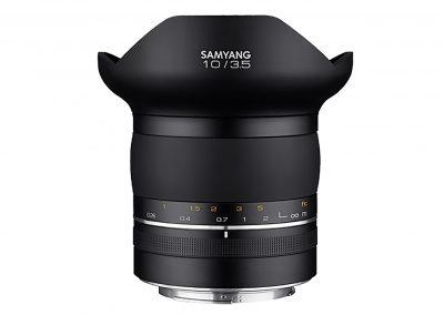 Samyang 10mm Seitenansicht