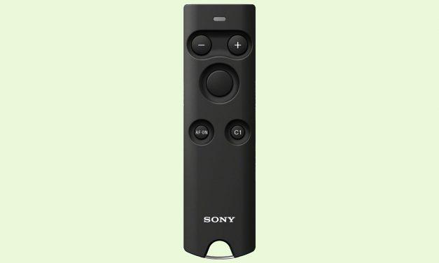Sony bringt Bluetooth-Fernbedienung für aktuelle Spiegellose