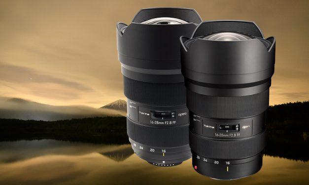 Neu von Tokina für Canon und Nikon: Weiwinkelzoom opera 16-28mm F2.8 FF