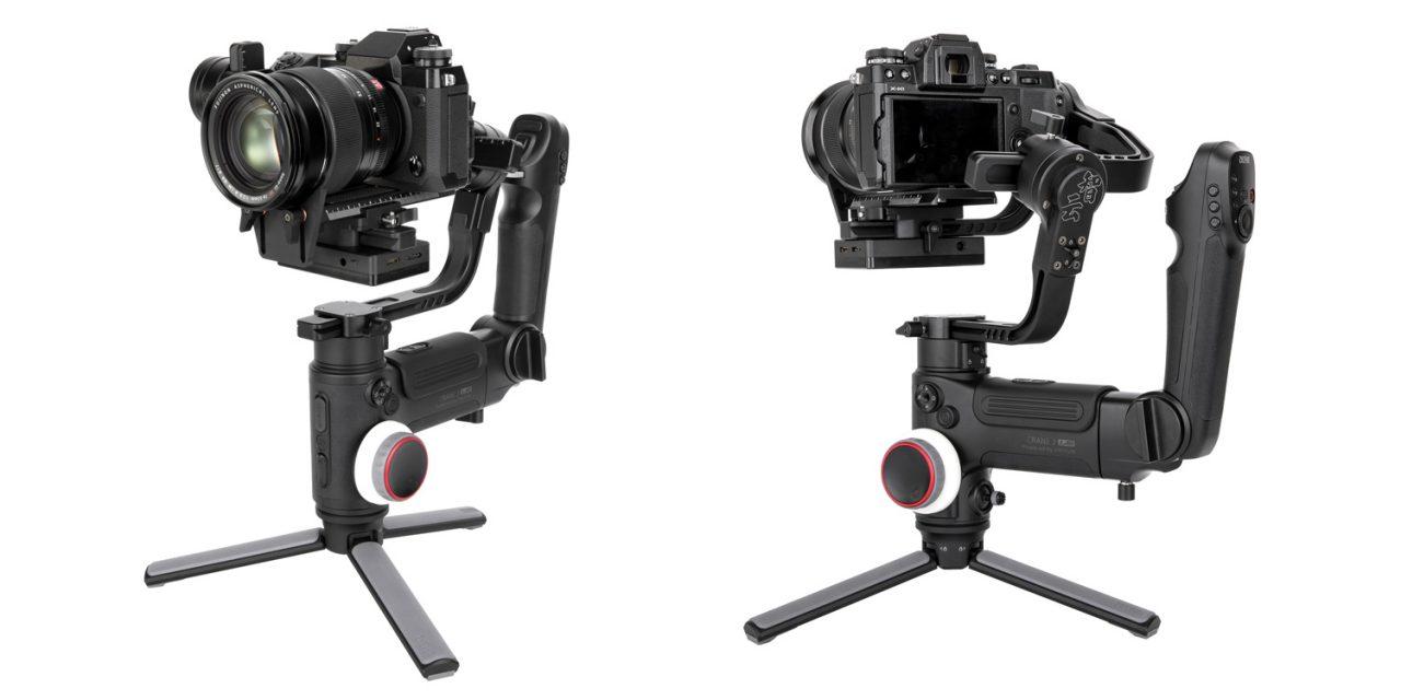 Zhiyun Crane 3 Lab: Kraftvoller Gimbal für DSLR und Systemkameras