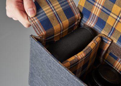 Gariz Canvas Tasche - Blick in Tasche