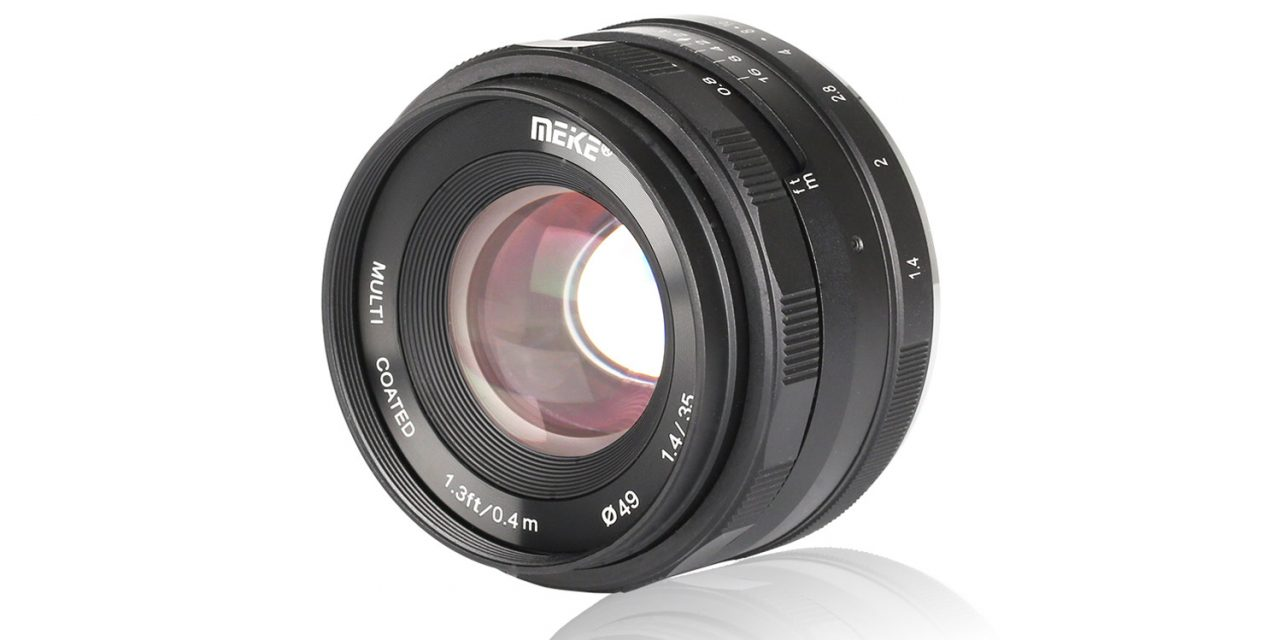 Meike 35mm F/1.4: Lichtstarke Normalbrennweite für APS-C und MFT