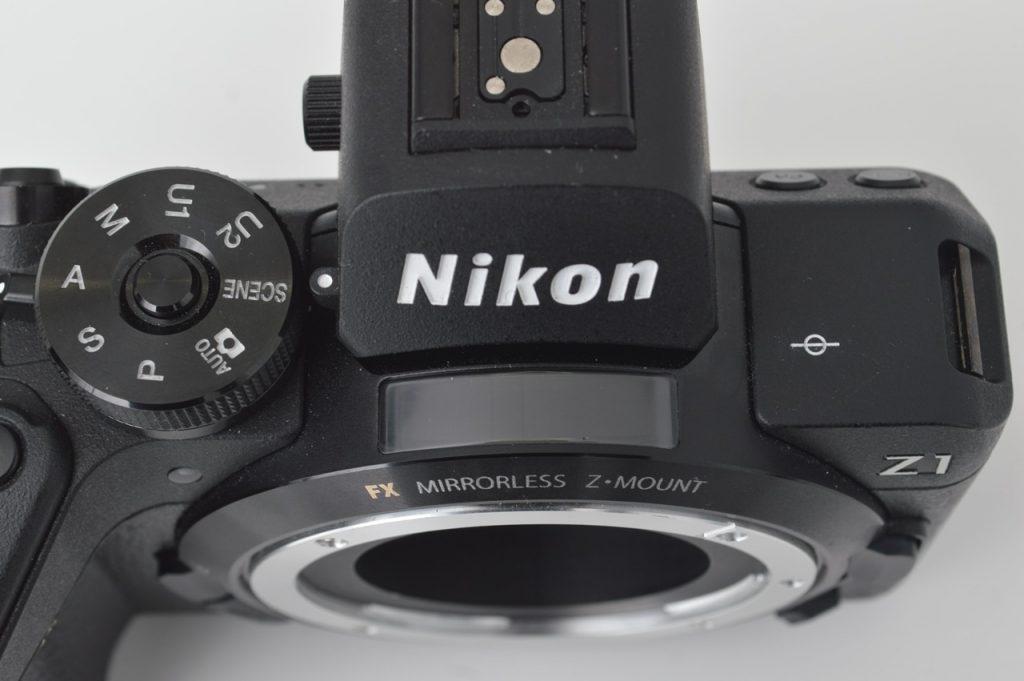 Nikon Z1 Mock-Up