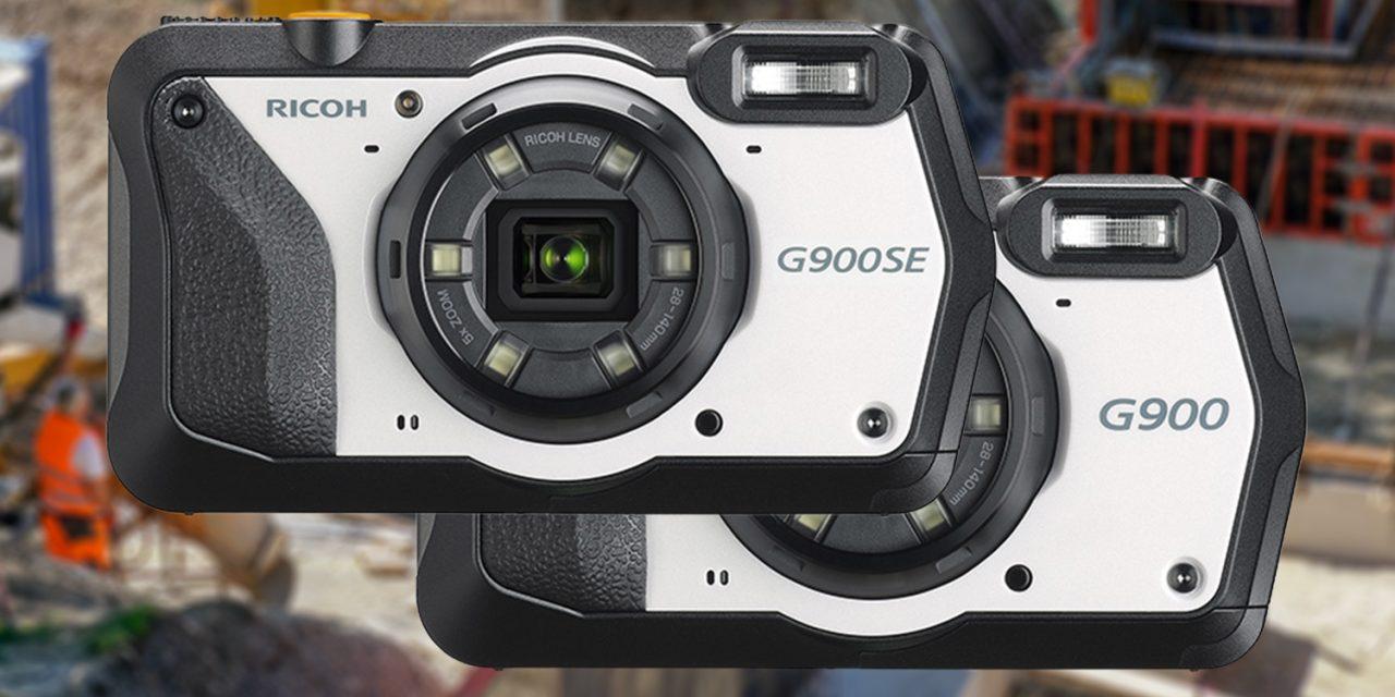 Ricoh G900SE und G900: Robuste Kompakte für Industrie, Medizin und Gewerbe