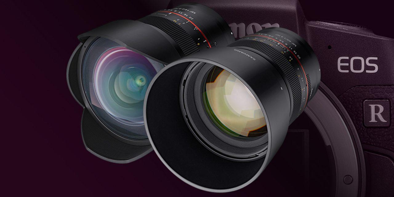 Für Canon EOS R: Samyang stellt MF 85mm F1.4 RF und MF 14mm F2.8 RF vor