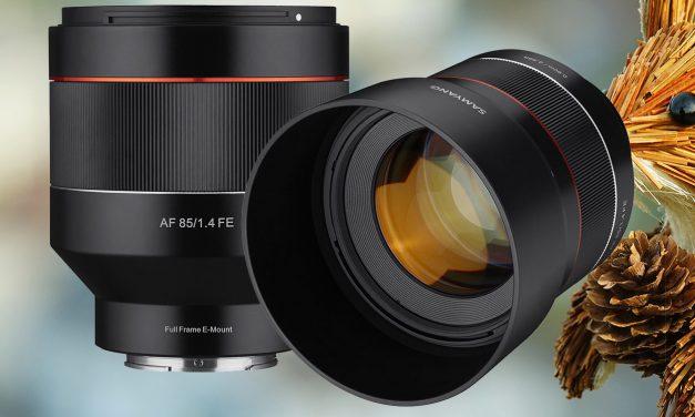 Für Sony E: Samyang präsentiert preiswertes 85mm F1.4 mit Autofokus (aktualisiert)