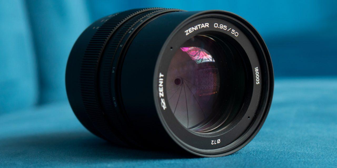 Zenit präsentiert Zenitar 0,95/50 Е für Sony E zum Spottpreis