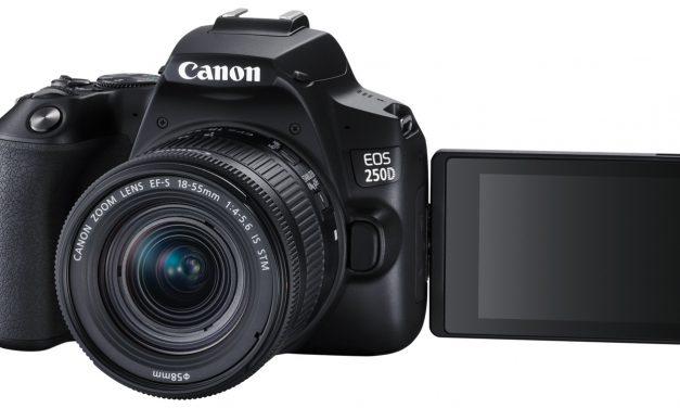 Canon EOS 250D: Neue Einsteiger-DSLR mit 4K-Video und verbessertem Autofokus