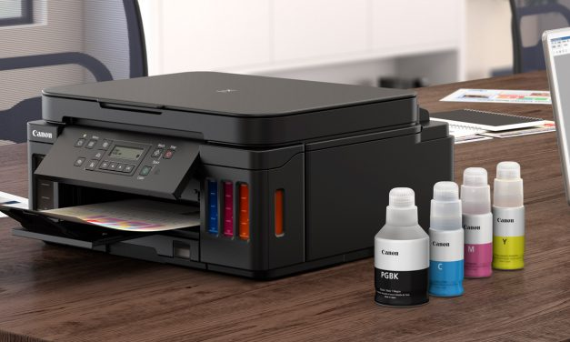 Canon bringt neue Drucker mit nachfüllbaren Tintenbehältern