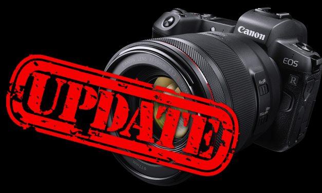 Für Canon EOS R: Firmware 1.2.0 mit Augen-AF veröffentlicht