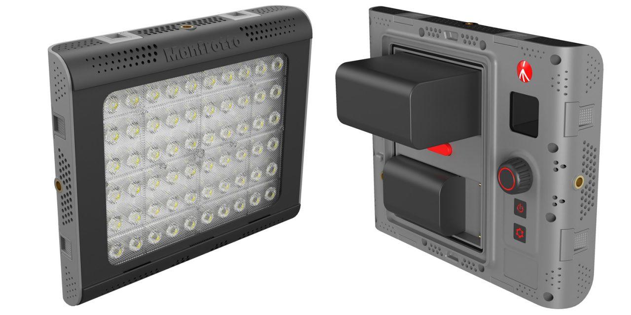 Neu von Manfrotto: LED-Licht Lykos 2.0 in Tageslicht und Bicolor