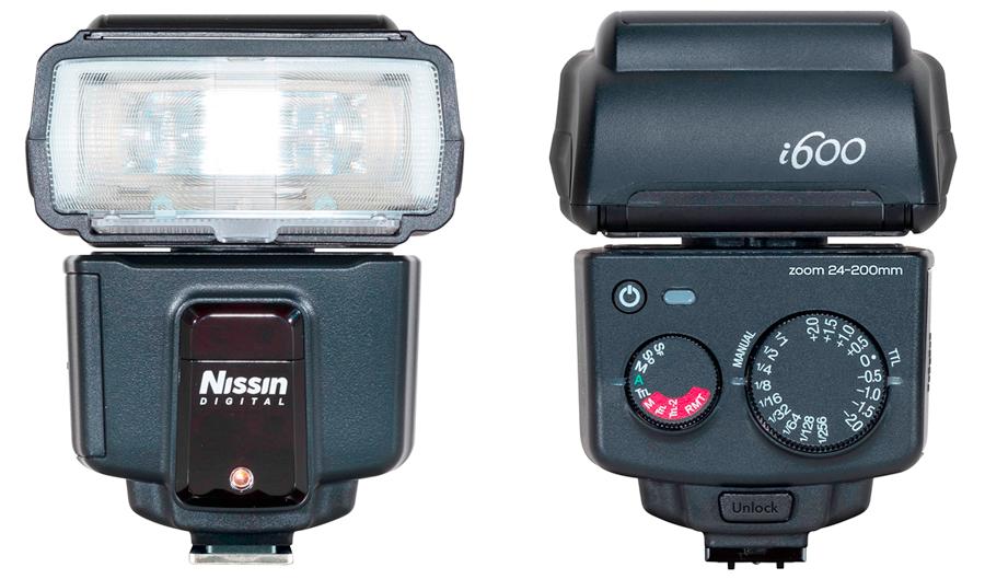 Nissin-i600-Ansichten