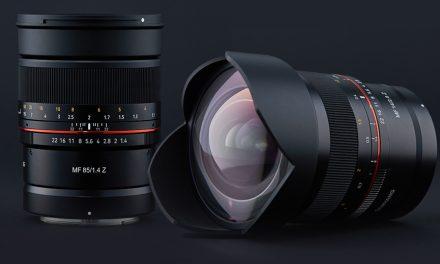 Jetzt auch für Nikon Z: Samyang MF 85mm F1.4 Z und MF 14mm F2.8 Z
