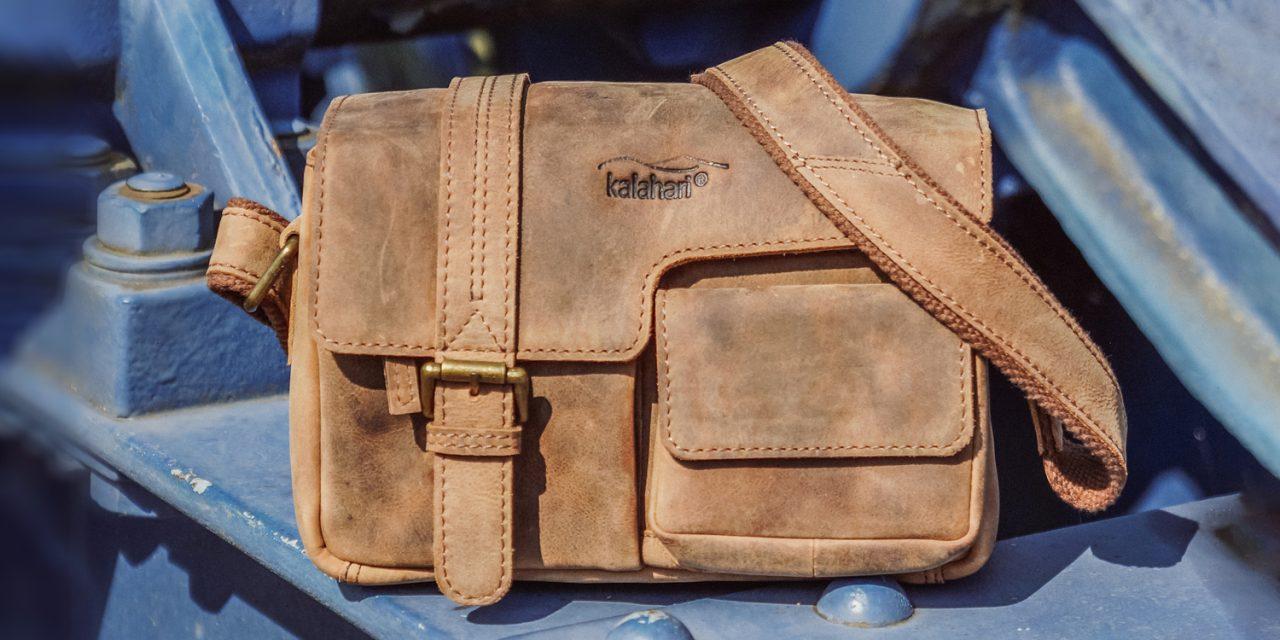 Kalahari Kaama LS: Zwei neue Fototaschen aus Softleder