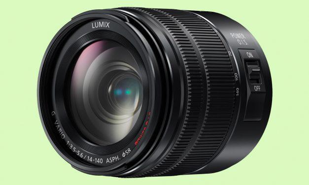 Neu von Panasonic: Allround-Zoom Lumix G Vario 14-140mm / F3.5-5.6 ASPH. II / Power O.I.S.