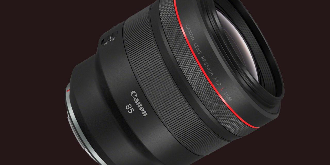 Canon präsentiert RF 85mm F1.2L USM für spiegelloses Kleinbild