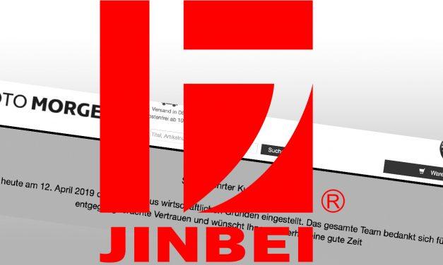 Jinbei Deutschland ist wieder da!