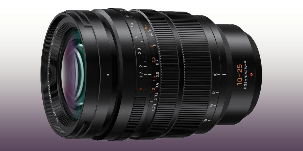 Panasonic präsentiert Leica DG Vario-Summilux F1.7 / 10-25mm für MFT