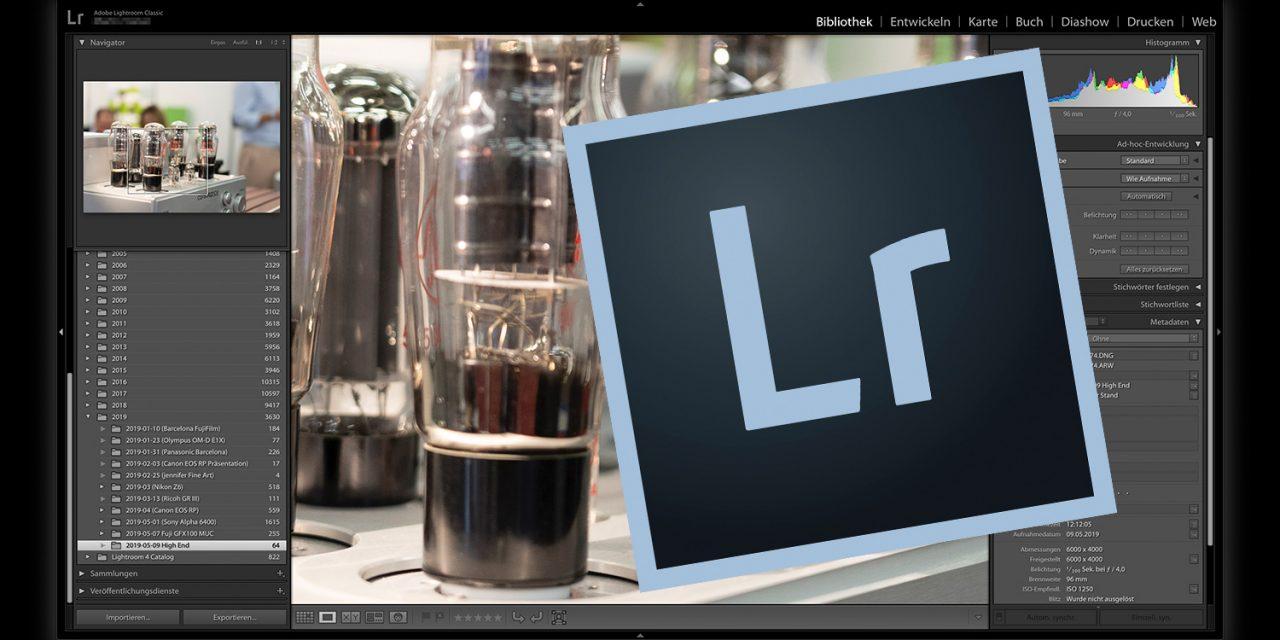 Adobe veröffentlicht umfangreiche Updates für Lightroom Classic und Lightroom