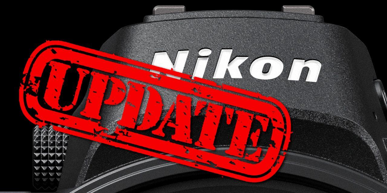 Nikon veröffentlicht Firmware-Update für D850, D7500 und D5600