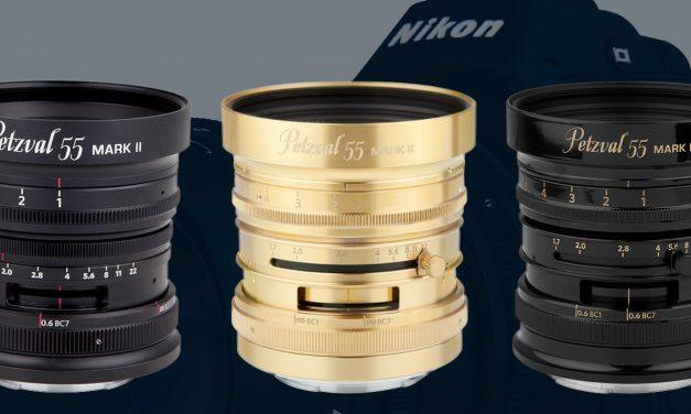 Neu von Lomography: Petzval 55 mm F/1.7 MKII speziell für Spiegellose von Sony, Canon und Nikon