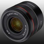 Samyang stellt vor: AF 45mm F/1.8 für Sony FE