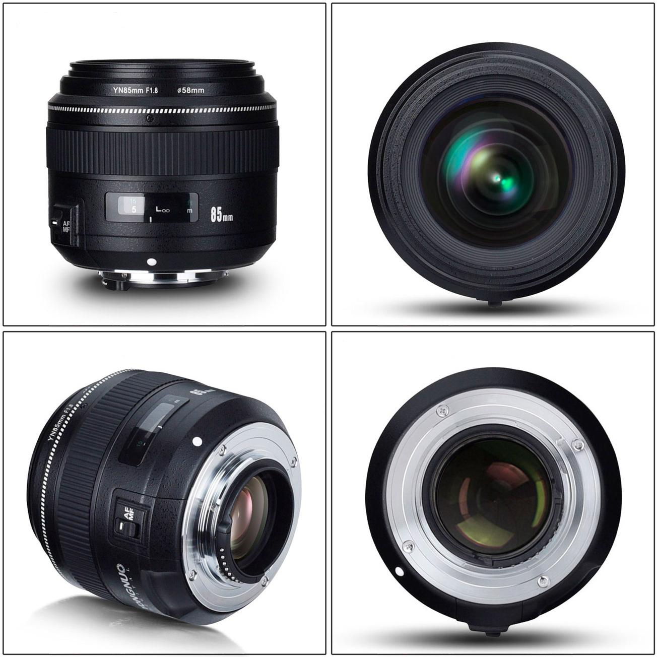 Yongnou-85mm-Nikon-Ansichten