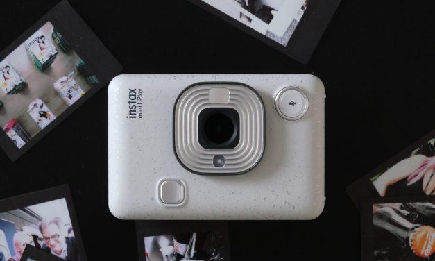 Fujifilm instax mini LiPlay: Hybride Sofortbildkamera mit Soundfunktion vorgestellt