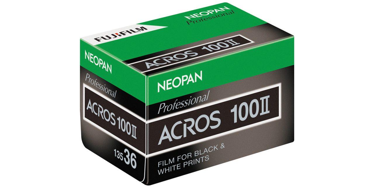 Fujifilm kehrt mit Acros II zum Schwarzweiß-Film zurück