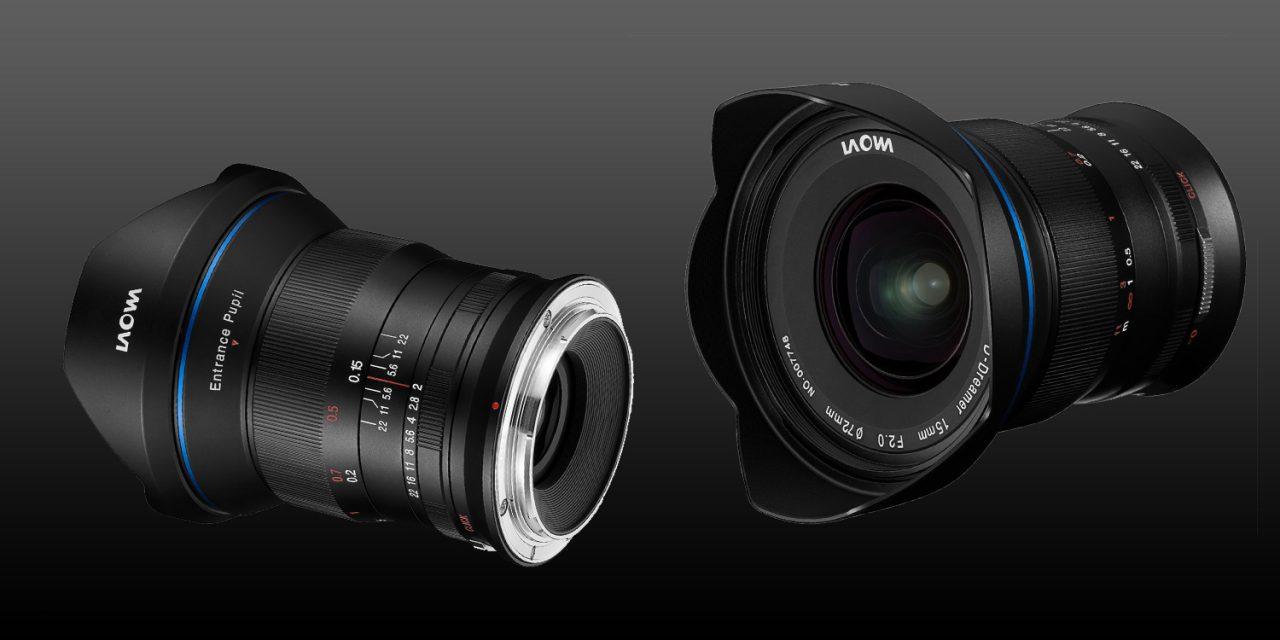 Laowa 15mm f/2,0 Zero-D bald auch für Canon RF und Nikon Z erhältlich