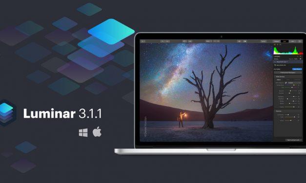 Luminar 3.1.1 erschienen: Mehr Speed, erleichterte Bilderverwaltung