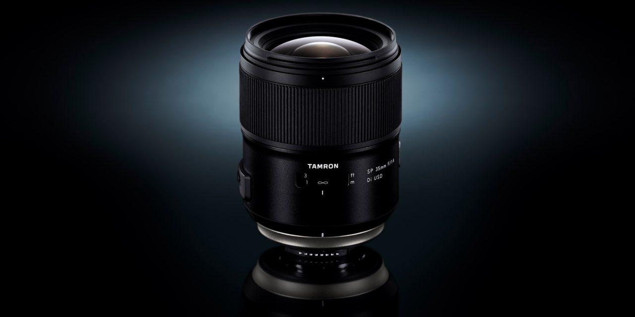 Für Nikon und Canon: Tamron SP 35mm F/1.4 Di USD im Detail vorgestellt
