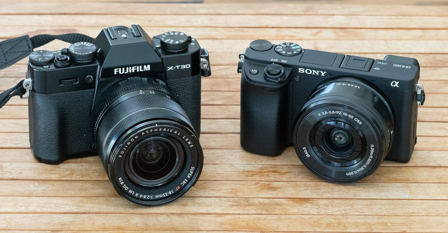 002_Fuji X-T30 Review_vs Alpha 6400