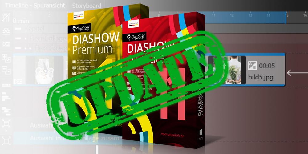 Gratis-Updates für Präsentationssoftware Diashow 11 und Stage 11 stehen bereit