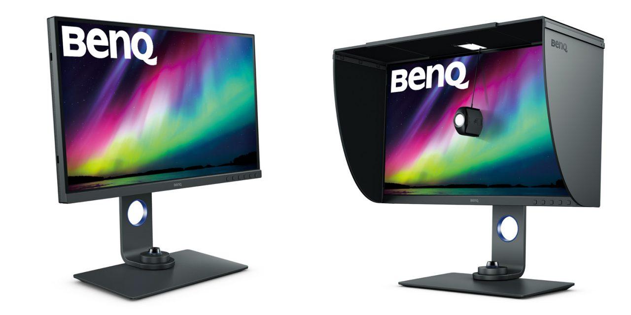 BenQ PhotoVue SW270C mit Hardware-Kalibrierung: 27-Zöller speziell für Bildbearbeiter