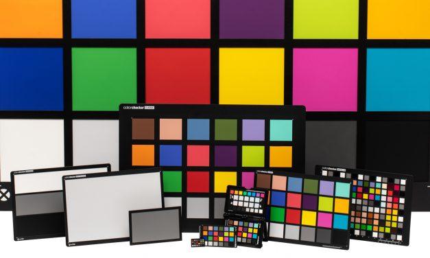 Colorchecker: Farbkarten in neuen Größen erhältlich
