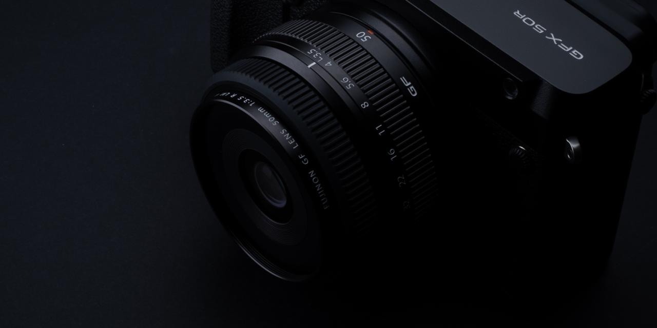 Neu von Fuji: Reportage-Objektiv GF50mmF3.5 R LM WR für GFX-System