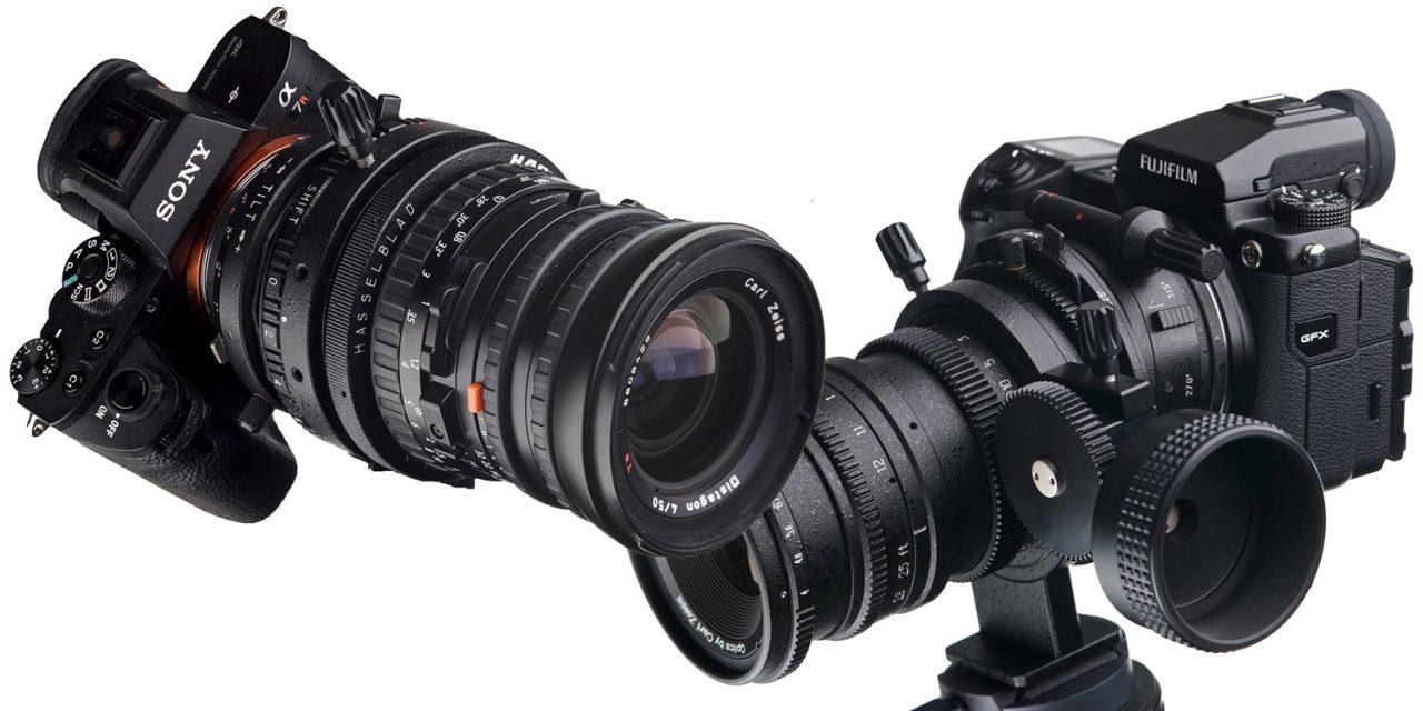 Neu von Hartblei: Superrotatoren mit Anschlüssen für Sony E, Fuji GFX und weitere Spiegellose
