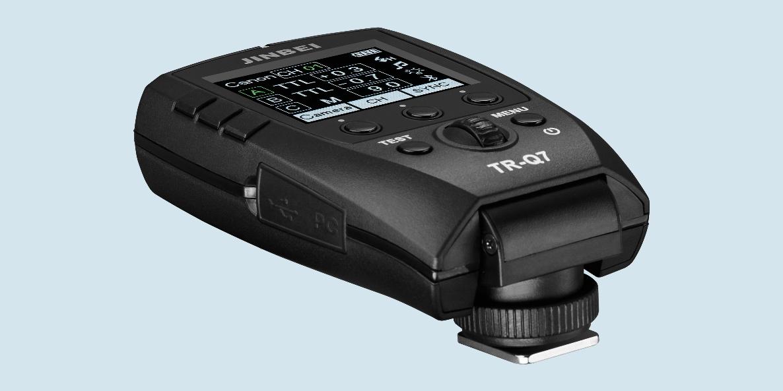 Neu von Jinbei: Funkauslöser TR-Q7 funktioniert mit fast allen Kameras
