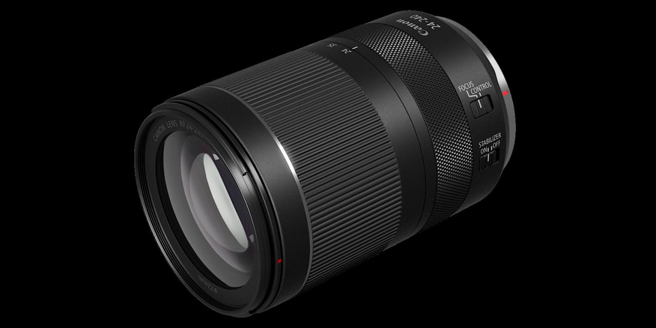 Neu von Canon: 10fach-Zoom RF 24-240mm F4-6.3 IS USM