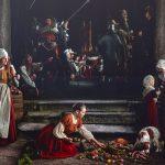Rembrandts Nachtwache nachgebildet und von allen Seiten fotografiert