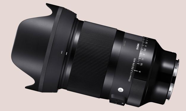 Sigma 35mm F1.2 DG DN Art für E-Mount und L-Mount im Detail vorgestellt