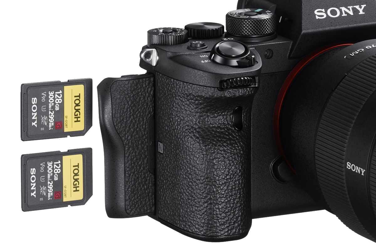 Sony-Alpha-7R-IV-Speicherkarten