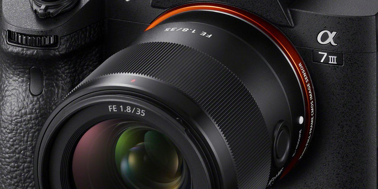 Sony bringt FE 35mm F1.8 für Kleinbildspiegellose (aktualisiert)